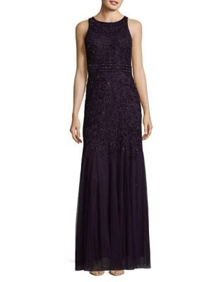 Sequin Mermaid Gown by Adrianna Papell