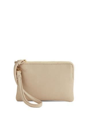 Small Leather Wristlet...