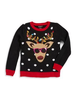 Girl's Reindeer with...