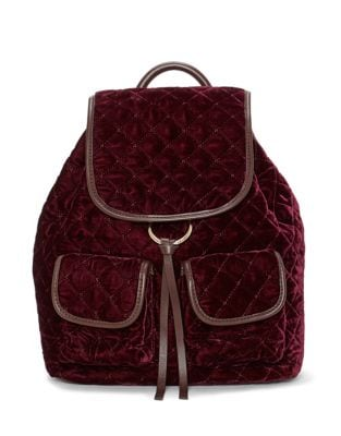 Glenn Velvet Backpack...