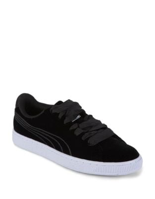 Women's Basket Classic Velour VR Sneakers by PUMA