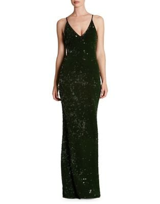 Vanessa Sequined Mermaid Gown by Dress The Population