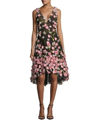 Floral Sheath Dress by Marchesa Notte