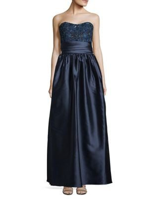 Embellished Sweetheart Ball Gown by Marchesa Notte