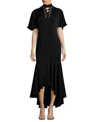 Photo of Shoshanna Hi-Lo Choker Gown