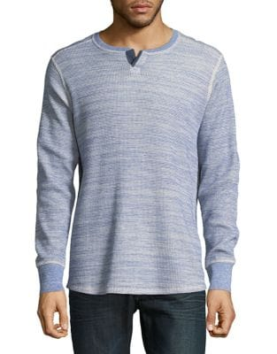 Heathered Cotton Sweater...