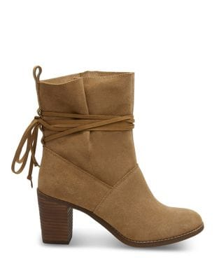 Mila Suede Booties by TOMS