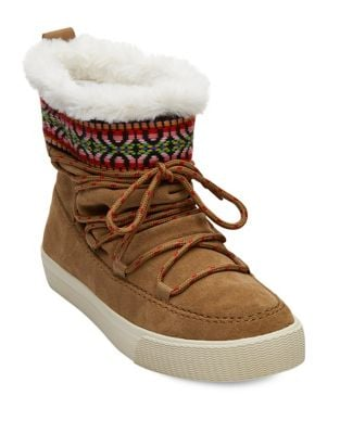 Alpine Faux Shearling Winter Boots by TOMS