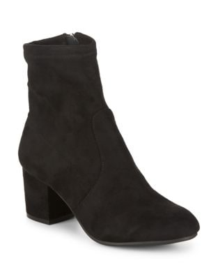 Irven Microsuede Booties by Steve Madden