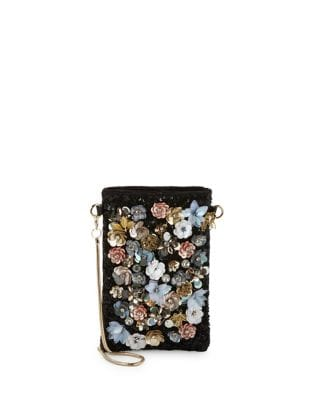 Floral Phone Pouch @...