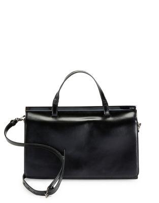 Crawford Leather Satchel...