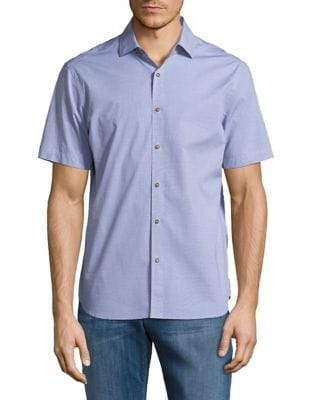 Casual Button-Down Shirt...