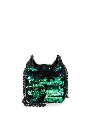 Amy Metallic Bucket Bag...