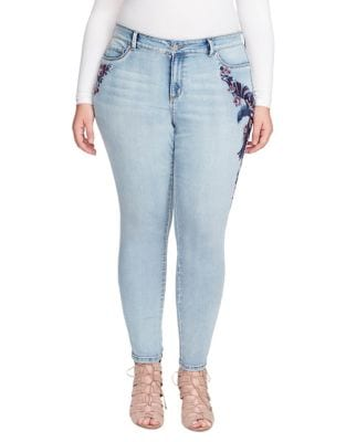 Plus Kiss Me Super Skinny Jeans 500087635510