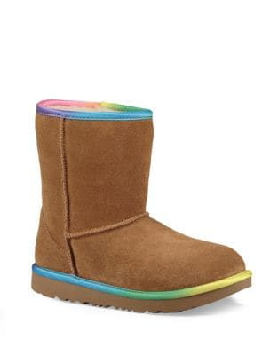 Kid's UGGpure Classic Short II Rainbow Booties by UGG