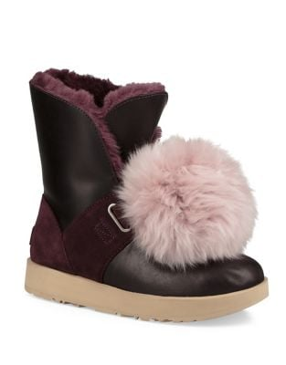 Isley Sheepskin and Waterproof Leather Boots by UGG