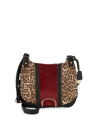 Leopard Messenger Bag...