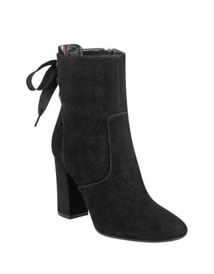 Divah Suede Booties by Tommy Hilfiger