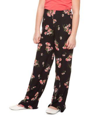 Girls FloralPrint Pants