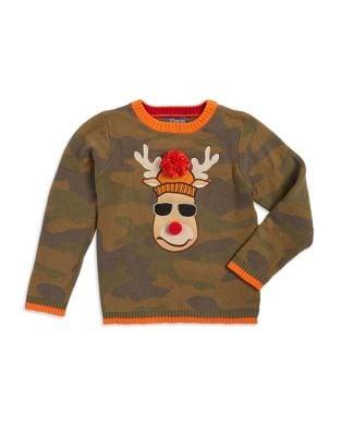 Boy's Camouflage Reindeer...