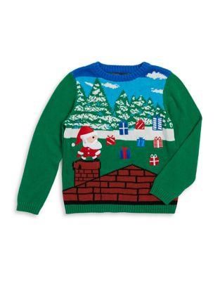 Boy's Gaming Santa Cotton...