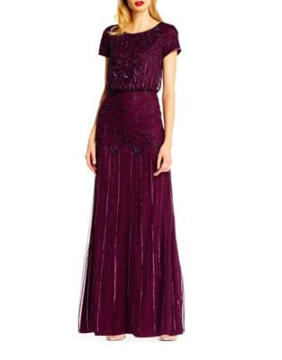 Glam Blouson Gown by Adrianna Papell