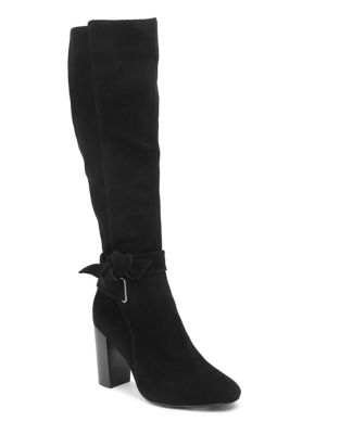 Suede Knee-High Boots by Kensie