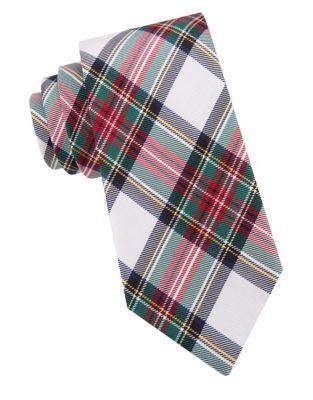 Boys Tartan Silk Tie