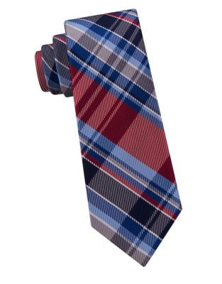 Boy's Tower Plaid Silk...