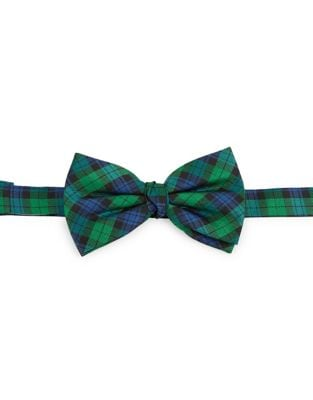 Boys Tartan Silk Bow Tie