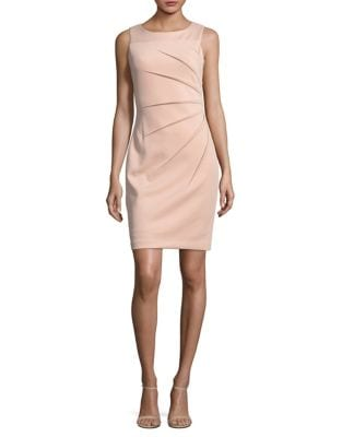 Petite Starburst Sheath Dress by Calvin Klein