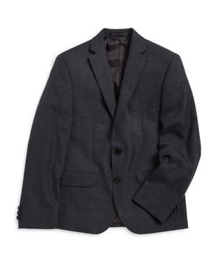 Boy's Plaid Jacket @...