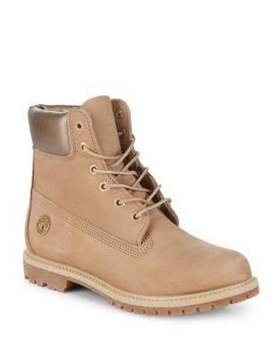 Waterproof Leather Ankle Boots by Timberland