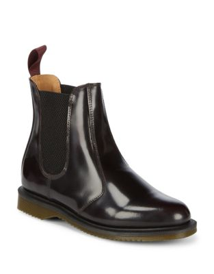 Leather Chelsea Boots by Dr. Martens