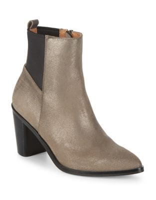 Hurray Leather Booties by Corso Como