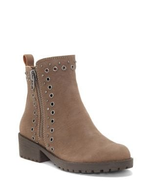 Hannie Leather Booties by Lucky Brand