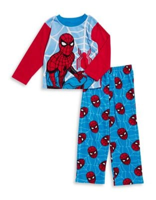 Little Boy's and Boy's Spiderman Two-Piece Pajama Set 500087652185