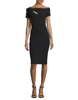 Asymmetric Sheath Dress by Chiara Boni La Petite Robe