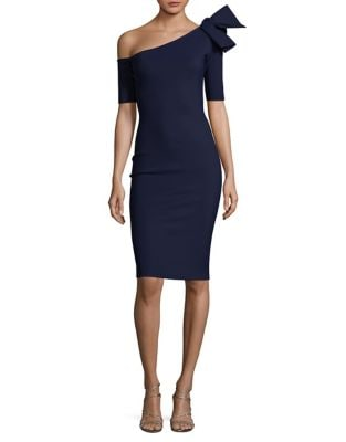 One-Shoulder Sheath Dress by Chiara Boni La Petite Robe