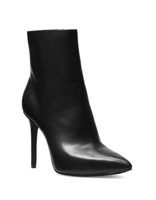 Leona Leather Stiletto Booties by MICHAEL MICHAEL KORS