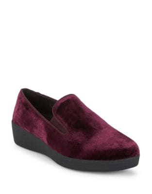 Velour Loafers by FitFlop