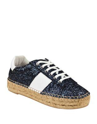 Margo Glitter Espadrille Sneaker by Marc Fisher LTD