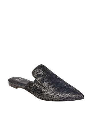Shiloh Sequin Mules by Marc Fisher LTD