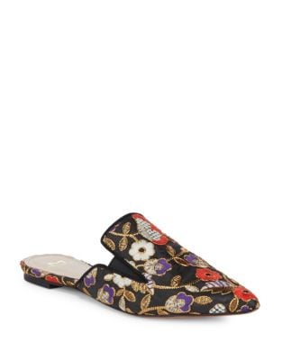 Shiloh Brocade Mules by Marc Fisher LTD