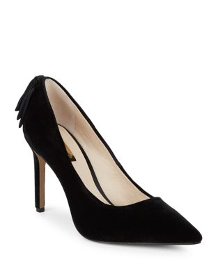 Josely Suede Bow Pumps...