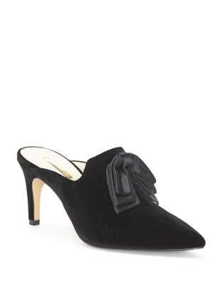 Katerina Suede Mules by Louise et Cie