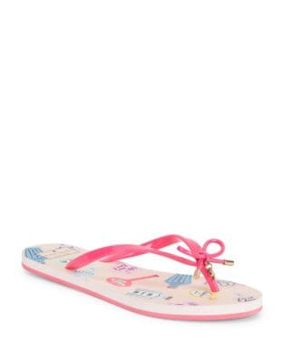Nova Love Potion Rubber Sandals by Kate Spade New York