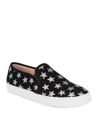 Liberty Metallic Star Slip-On Sneakers by Kate Spade New York