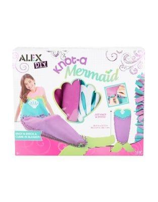 Eleven-Piece Knot-A-Mermaid Blanket Kit 500087660051