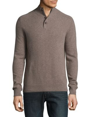Cashmere Heathered Sweater...